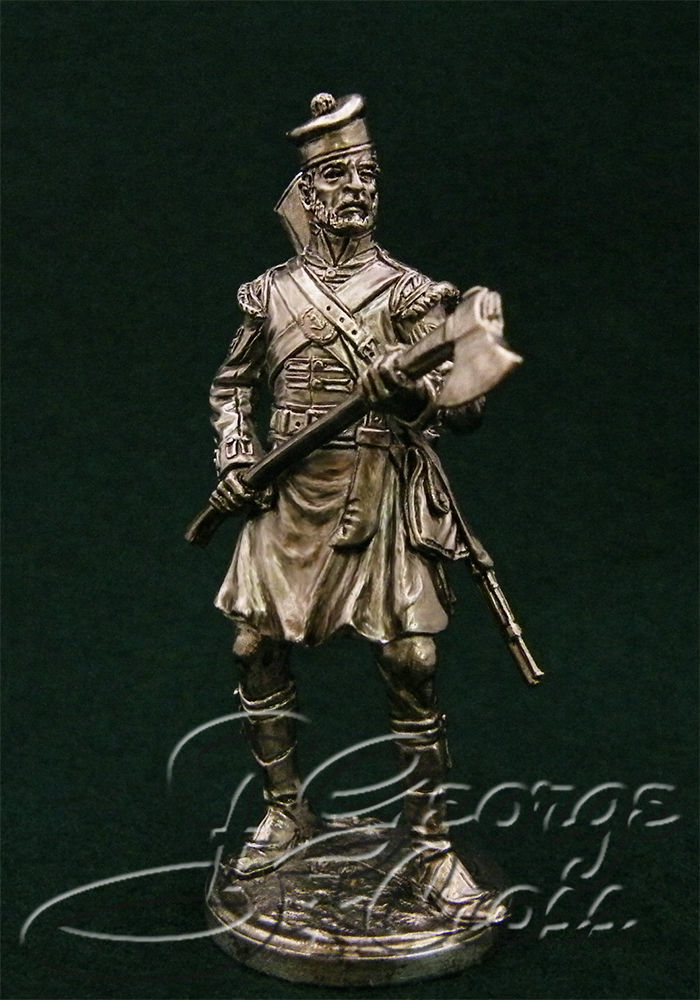 Sapper. 92nd Gordon regiment. United Kingdom, 1815; 54 mm