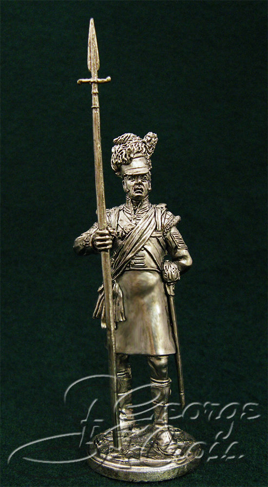 Colour sergeant. 92nd Gordon regiment. United Kingdom, 1815; 54 mm