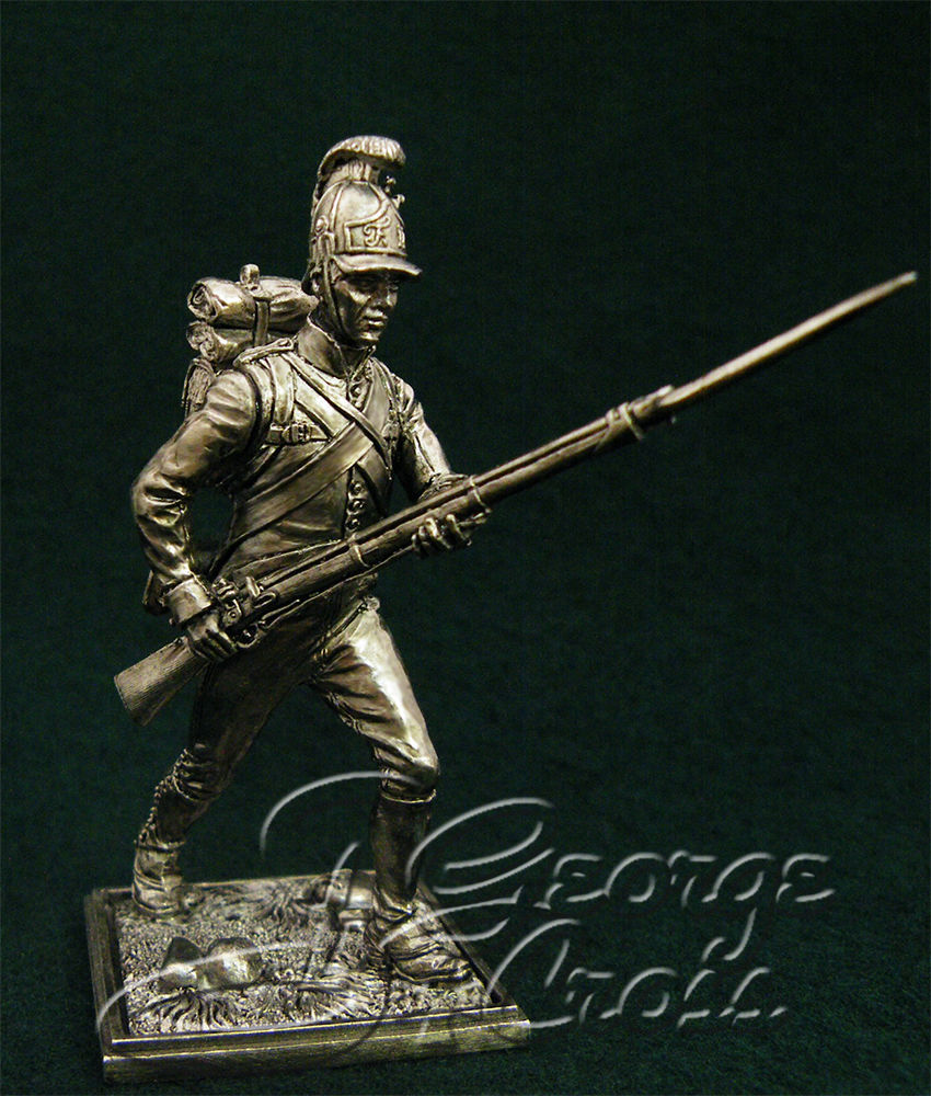 Private German regiments of infantry of the line. Austria-Hungary, 1805-14; 54 mm