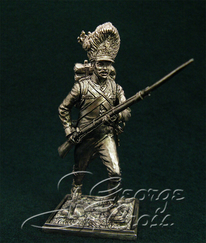 Private Grenadier Company Hungarian regiment line infantry. Austria-Hungary, 1805-14; 54 mm