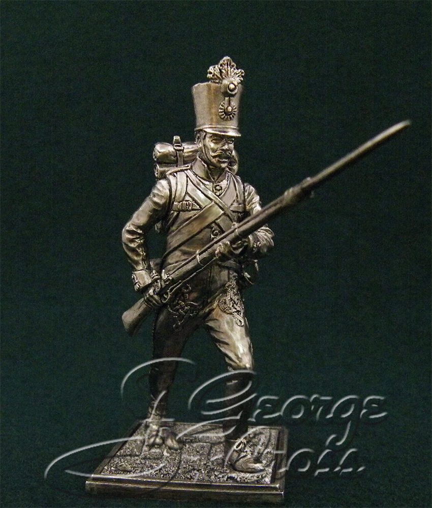 Private Hungarian regiment line infantry. Austria-Hungary, 1805-14; 54 mm