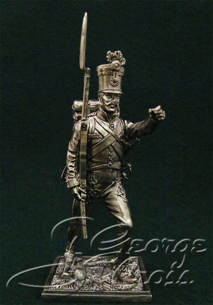 NCO Hungarian regiment line infantry. Austria-Hungary, 1805-14; 54 mm