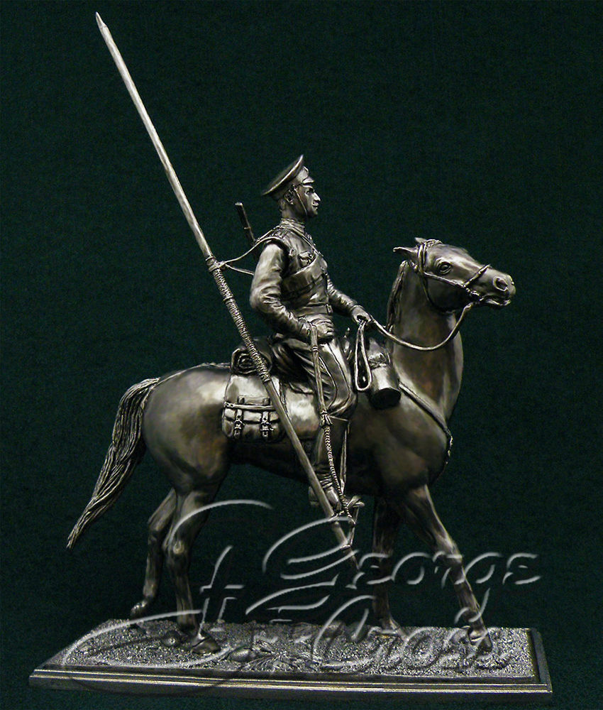 The Don Cossack. Russia, 1914-20; 54 mm