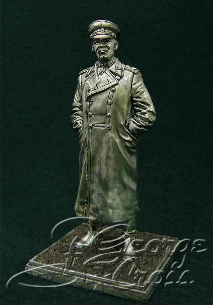 Marshal G.K. Zhukov. Soviet Union, World War II; 54 mm