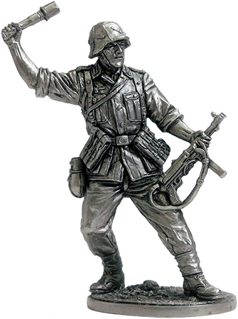 Infantryman. Germany, 1942-45; 54 mm