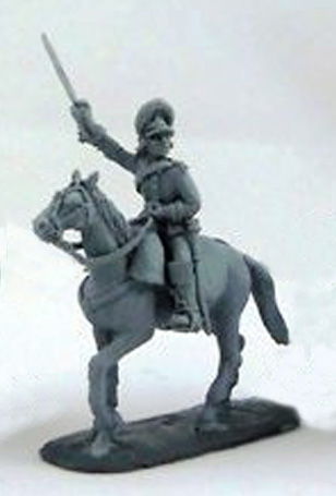 Cavalry officer, 1786-1796; 1/72