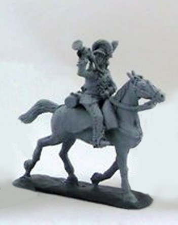 Cavalry Trumpeter, 1786-1796; 1/72