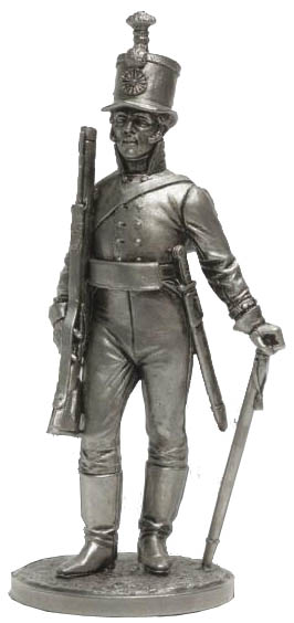 NCO of the Life Guards of the Jaeger Battalion. Russia, 1802-04; 54 mm