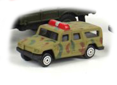 Hummer H1 - terrain vehicle; 1/60