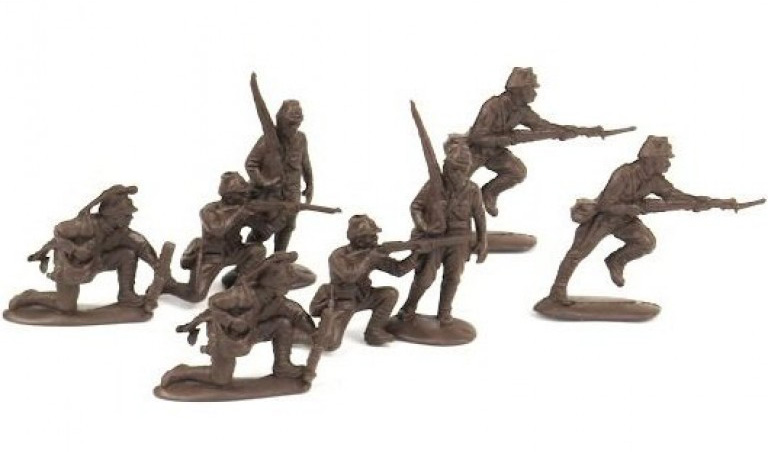 WWII Japanese infantry (Airfix recast); 1/32