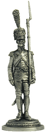 Private, Fusilier-Grenadier of the Guard Infantry. 1806-1814. France.