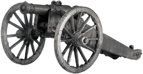 1/2-Pud Unicorn - Russian cannon period of the Napoleonic Wars; 54 mm