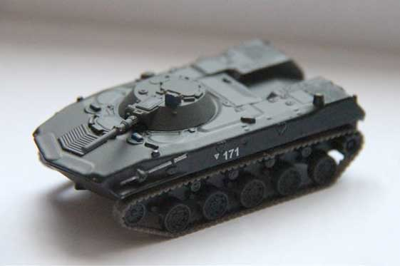 BMD-1 - Soviet airborne amphibious tracked infantry fighting vehicle; 1/72