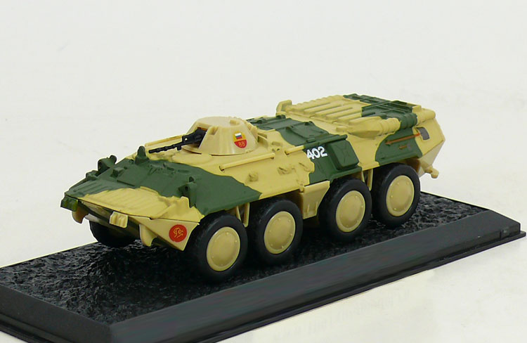 BTR-80 - Soviet amphibious armoured personnel carrier; 1/72