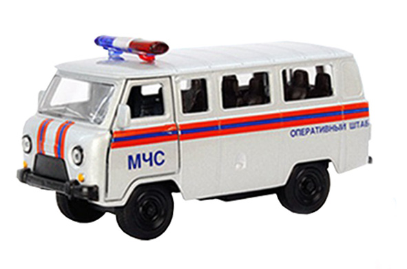 UAZ-452 (UAZ-3962) - russian special all terrain utility vehicle (4×4); 1/50