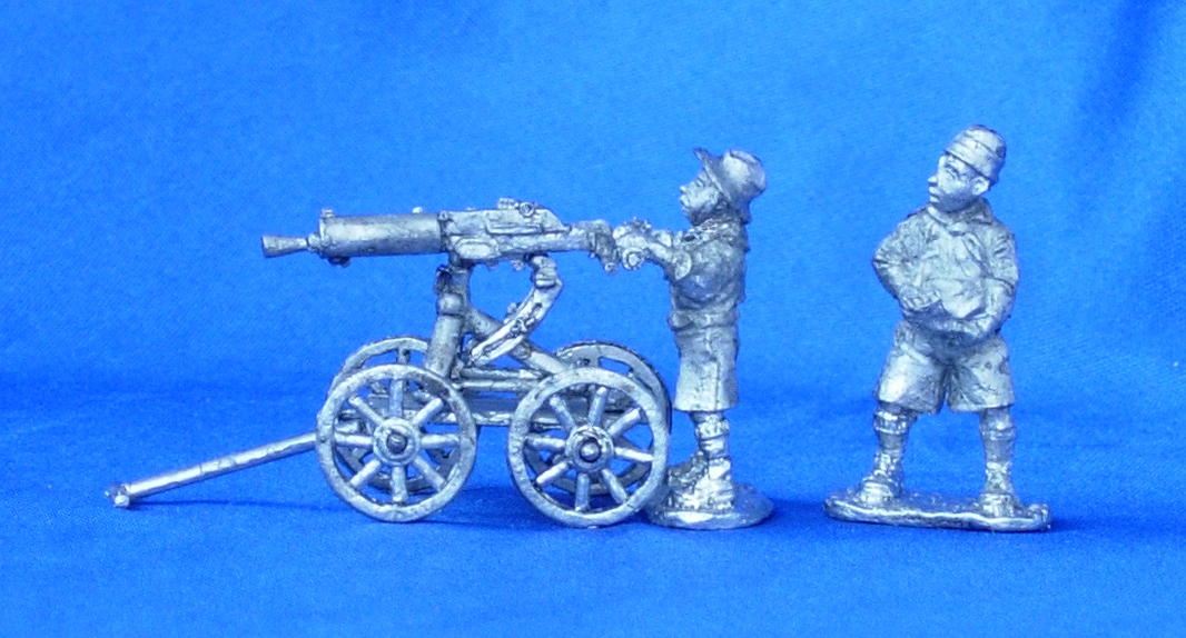 Boy Scouts - machine gunners; 28 mm