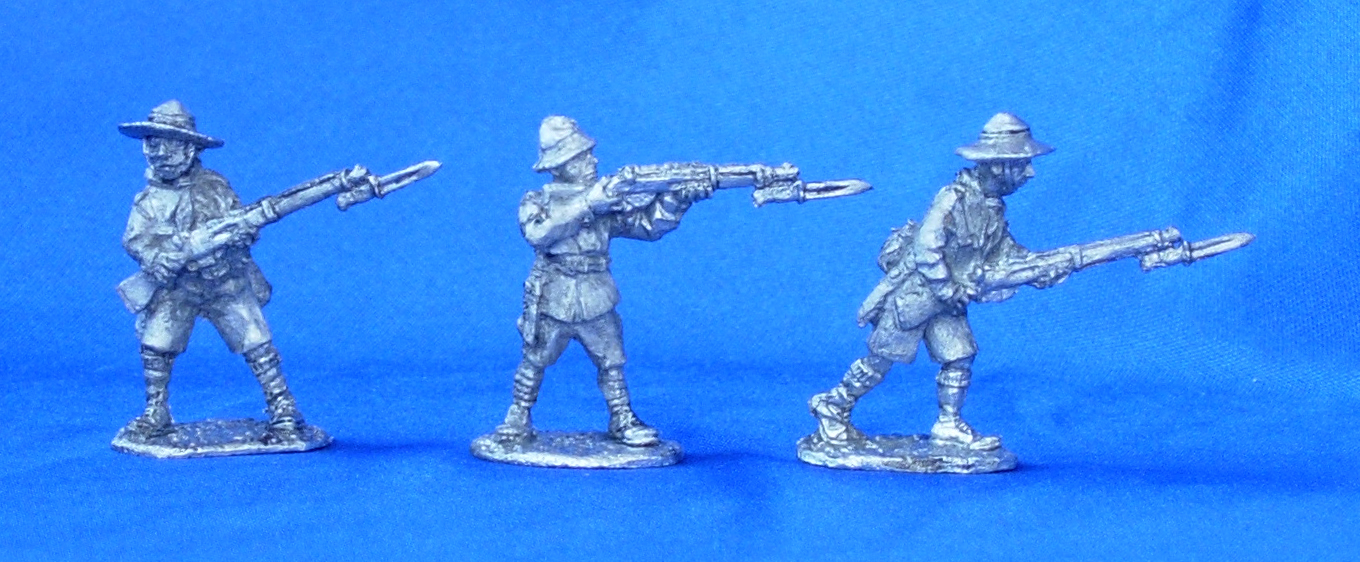 Boy Scouts with rifles №2; 28 mm