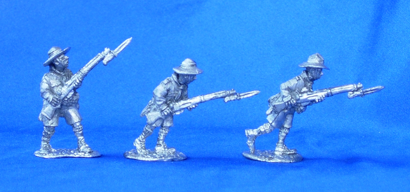 Boy Scouts with rifles №1; 28 mm