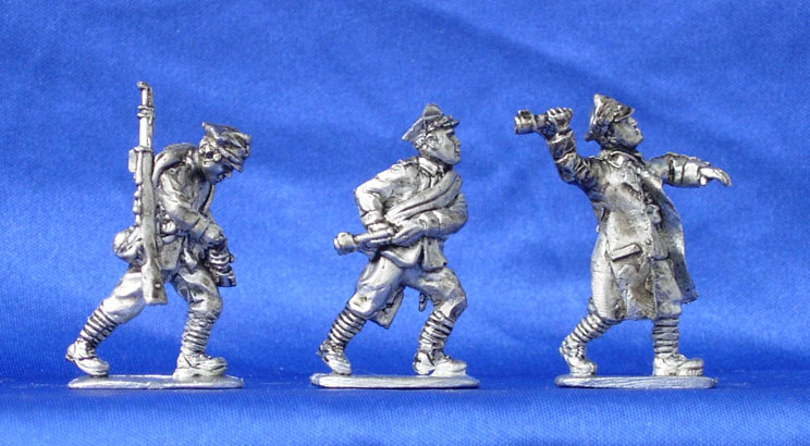 Polish infantry (set №7), 28 mm