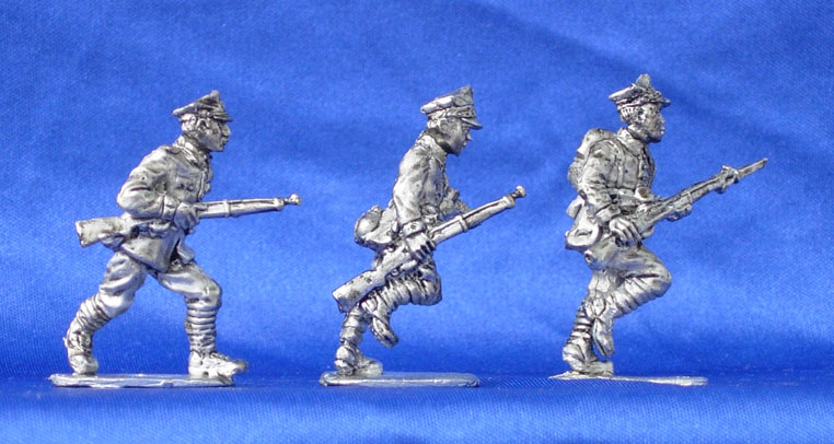 Polish infantry (set №8), 28 mm