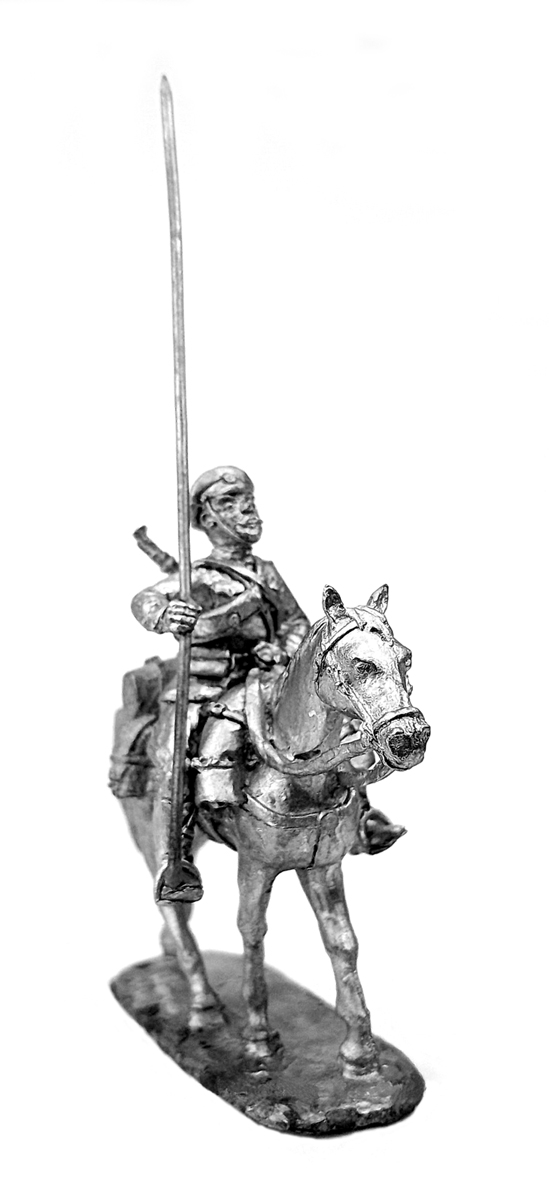 Cossack. Russia, 1914-1922; 28 mm