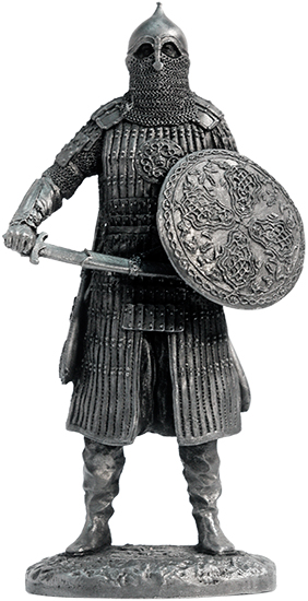 East Warrior, 14th century; 75 mm