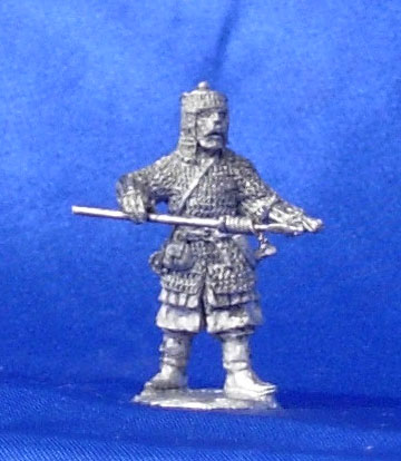 Cossack - artilleryman, 16th century; 28 mm