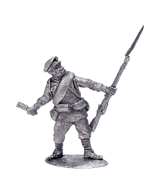 Soldier. Russia, 1914-1922; 28 mm