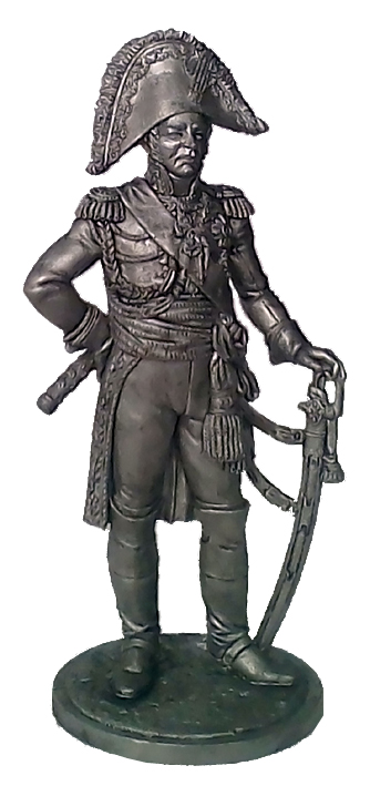 Marshal of the Empire Louis-Nicolas Davout. France, 1806–15; 54 mm