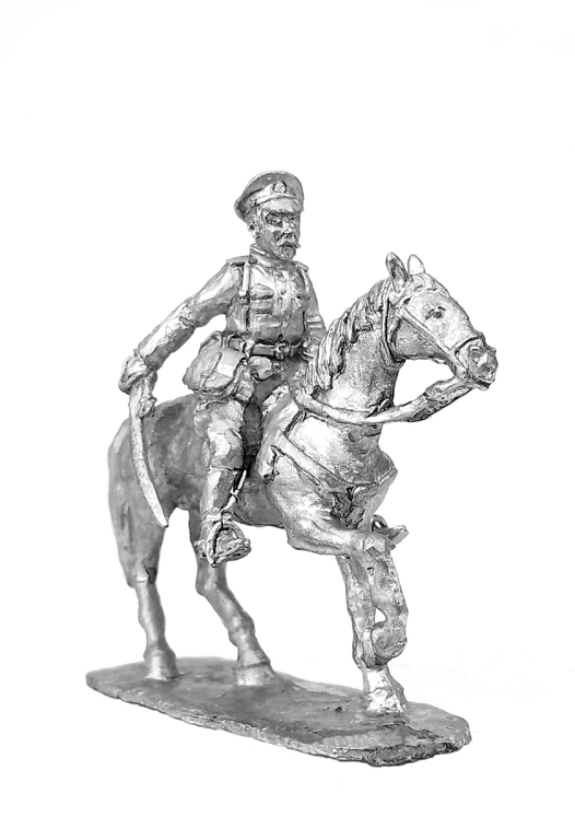 Horse officer. Russia, 1914-1922; 28 mm