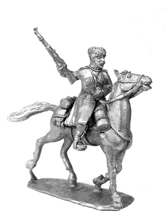 Caucasian Cossack. Russia, 1914-1922; 28 mm