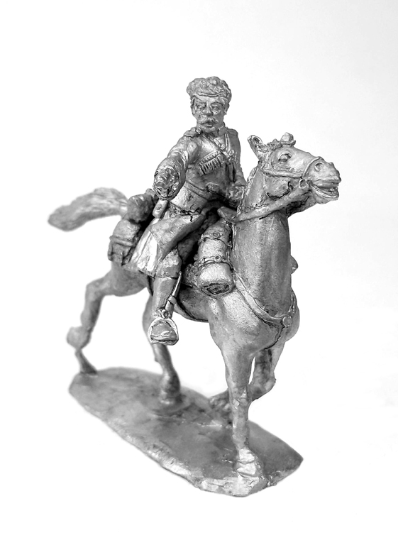 Officer of the Caucasian Cossacks. Russia, 1914-1922; 28 mm