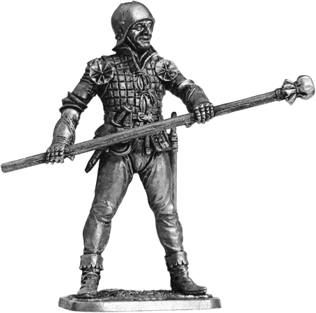 Artilleryman. Western Europe, 15th century; 54 mm