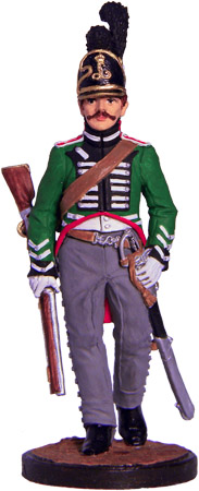 Private Guards Chevau-légers Regiment. Hesse-Darmstadt, 1806-12