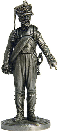 Artilleryman from Army foot artillery. Russia, 1809-14; 54 mm