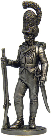 Grenadier of Oldenburg Regiment. Denmark, 1807-13; 54 mm