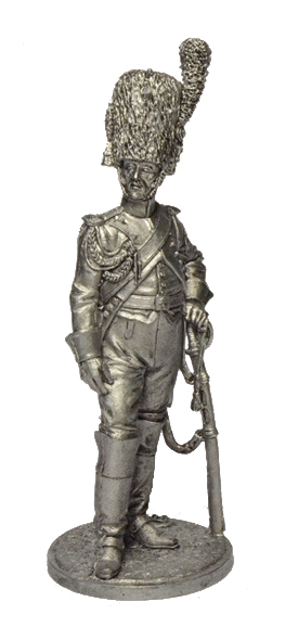 Grenadier of the regiment Grenadiers a Cheval of the Imperial Guard. France, 1807-1814; 54 mm