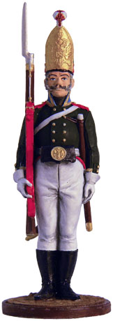 NCO in the Grenadier Regiment. Russia, 1802-05. 54mm.
