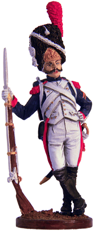 Private Grenadier Regiment of the Imperial Guard. France, 1804-15. 54mm.