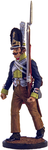 Grenadier of the 45th Infantry Regiment Zweifel. Prussia, 1806; 54 mm