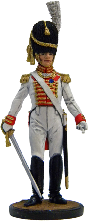 Guard Grenadiers officer. Westphalia, 1809-10