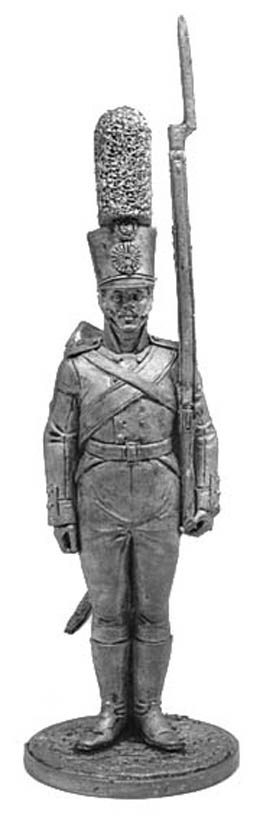 Grenadier of the Smolensk Musketeers Regiment. Russia, 1805-07; 54 mm