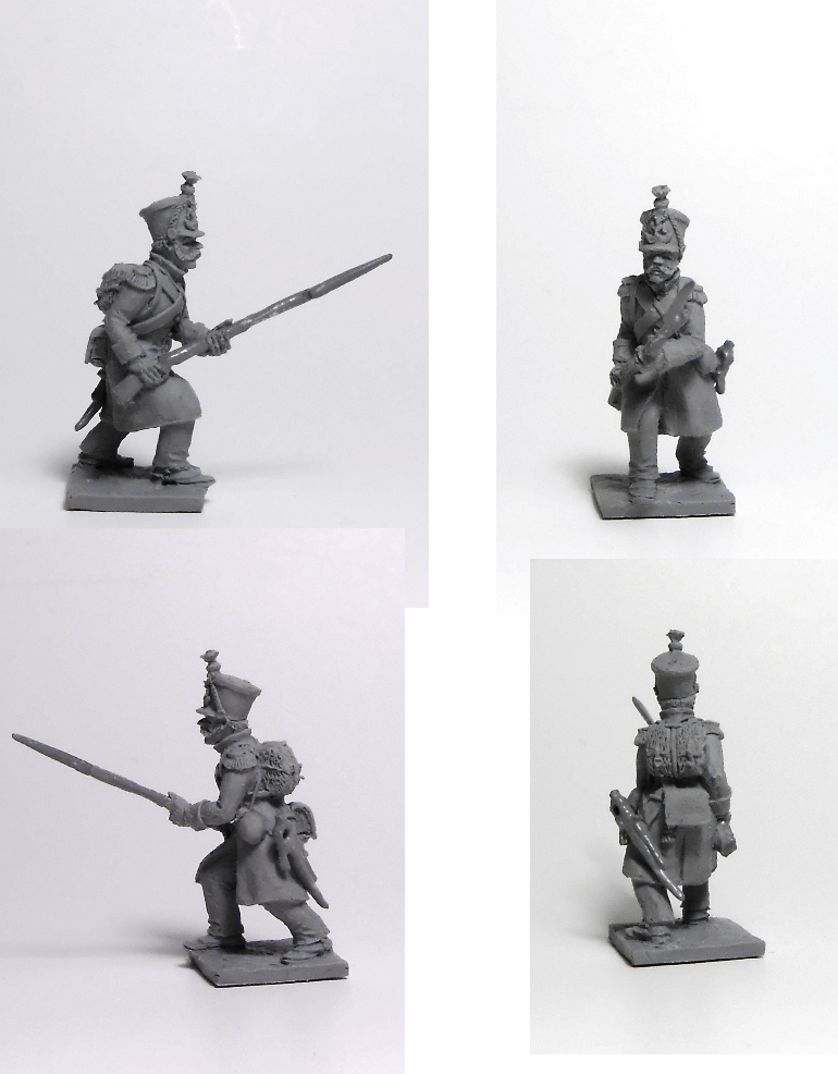 French infantryman; 1/72