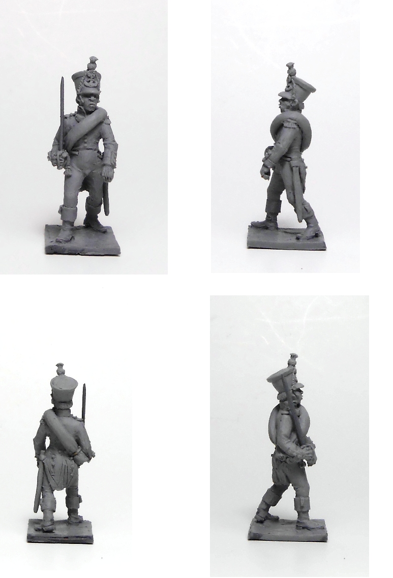 French officer; 1/72