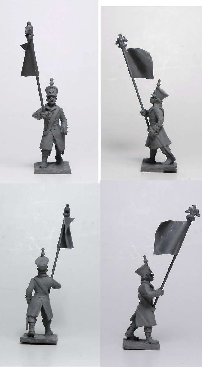 French standard-bearer; 1/72