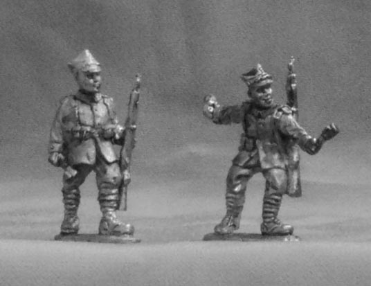 Polish infantry (set №4), 28 mm