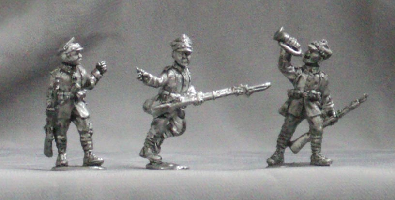 Polish infantry (set №3), 28 mm