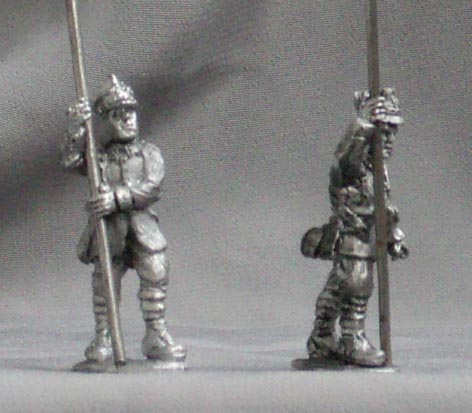 Polish standard bearers; 28 mm
