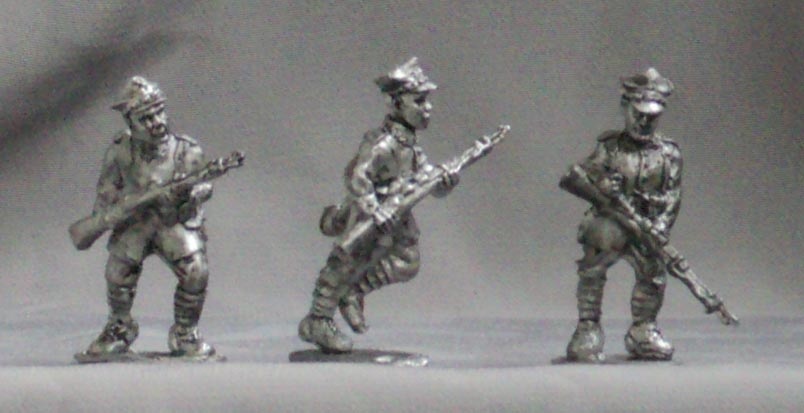 Polish infantry (set №2), 28 mm