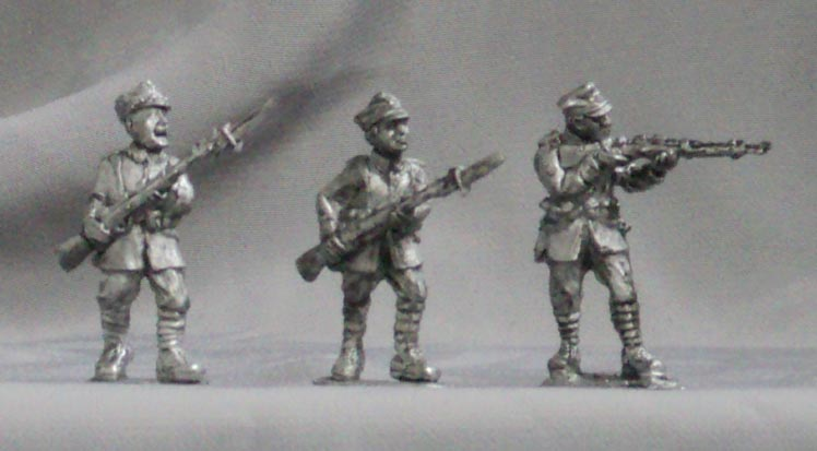 Polish infantry (set №1), 28 mm